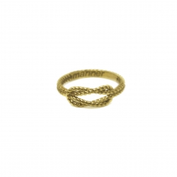 Reef knot ring G