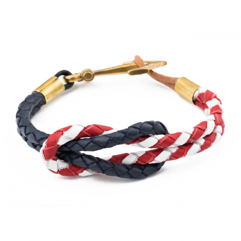 Blue Red Reef Knot