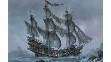 Корабль-призрак. Легенда о «Летучем Голандце»